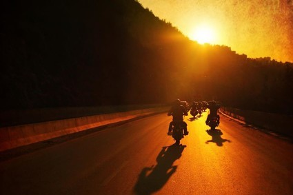 motorcycle_sunset